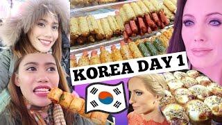 KOREA DAY 1: HOLLYWOOD STARS + FOODTRIP + NEW FRIENDS 💜 Purpleheiress