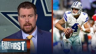 What did we learn about Dak Prescott during the Cowboys' Week 10 loss? | FIRST THINGS FIRST