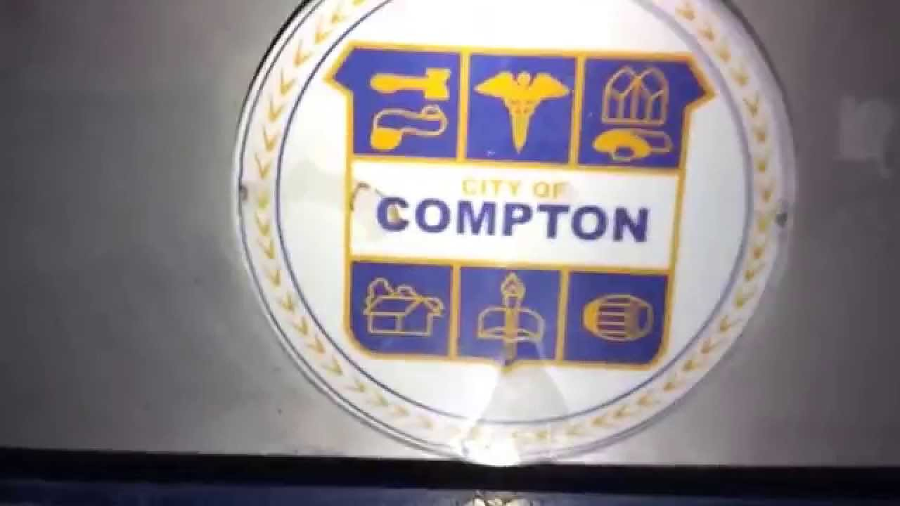 Compton California WELCOME Sign (How to find this one ...