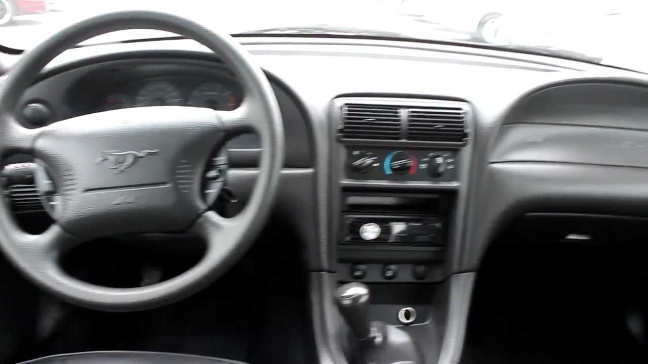 2001 ford mustang interior 1fafp44451f228039 [ 1280 x 720 Pixel ]