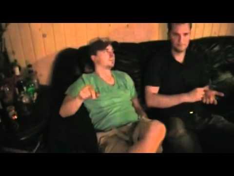 Forcentury in the studio recording vocals 2009