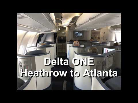 What's It Like Flying Delta One From Heathrow To Atlanta?