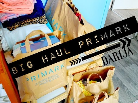 Big Haul Primark Summer 2015 | Darija Marocaine (Moroccan Arabic) |مشترياتي من برايمارك