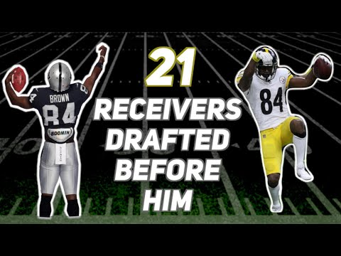 Who Were The 21 WRs Drafted Before Antonio Brown? How Did Their Careers Turn Out?