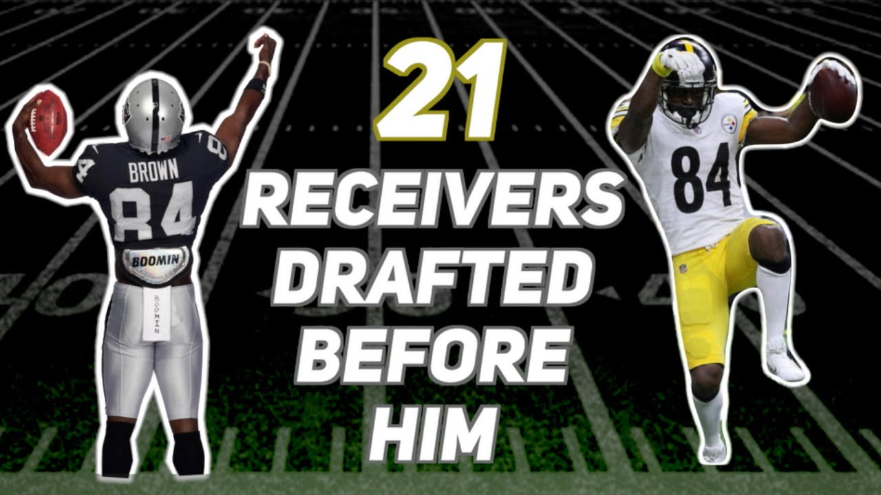 big sale 96a00 6d613 Who Were The 21 WRs Drafted Before Antonio Brown? How Did Their Careers  Turn Out?