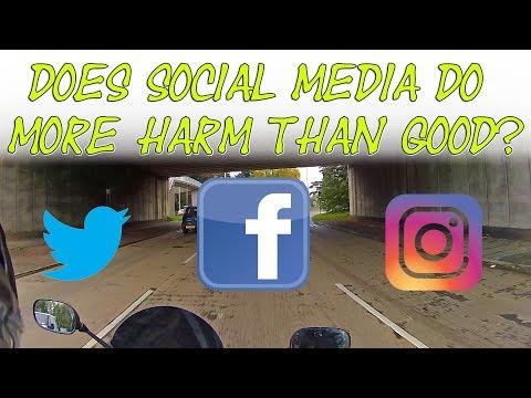 Does social media do more harm than good?