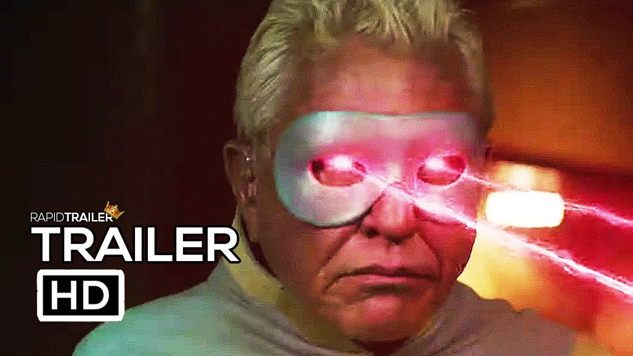 Official Movie Posters 2019: SUPERVISED Official Trailer (2019) Superhero Movie HD