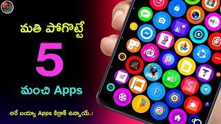 Top 5 Amazing Android Apps 2019 | Review On Latest Useful Apps And Their Features | Tech Siva