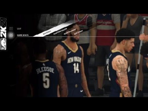 Game of the year 2021 NBA 2k21 |