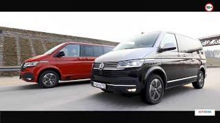 Тест-драйв Volkswagen T6.1: Multivan и Caravelle от Автогода