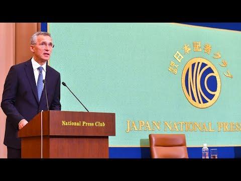 NATO Secretary General speech at the Japan National Press Club, Tokyo, 31 OCT 2017