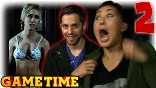 THINGS GET SEXY IN UNTIL DAWN (Gametime w/ Smosh Games)