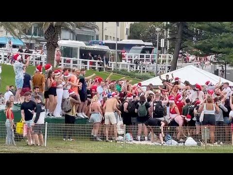 Sydney beach party sparks UK backpacker deportation threats