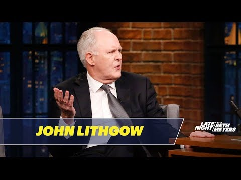 John Lithgow Got His First Acting Gig at Age 2