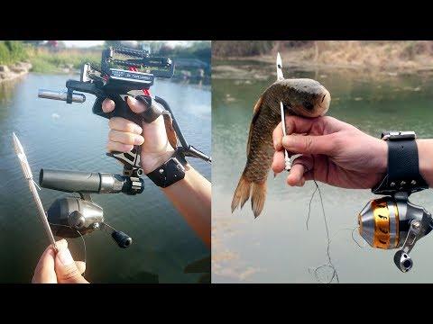 СУПЕР РОГАТКА для Рыбалки / Slingshot Fishing