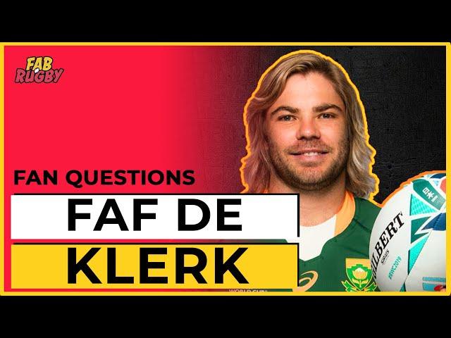 Fan Questions with FAF DE KLERK