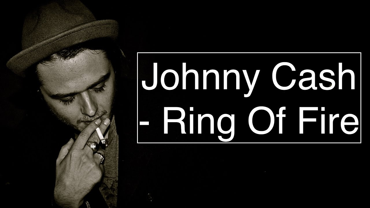 Johnny Cash Ring Of Fire Guitar Tutolessoncover With Chords