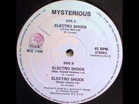 MYSTERIOUS - ELECTRO SHOCK (RHYHM VERSION) 1990