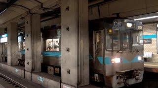 【4K】響くVVVFサウンド!名古屋市営地下鉄鶴舞線3000形・3050形・N3000形 名鉄100系中間VVVF車など 御器所駅にて