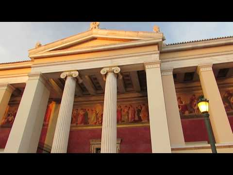 Walk around Athens City Centre in Greece 4