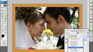 Learn Photoshop - How To Create A Wood Photo Frame