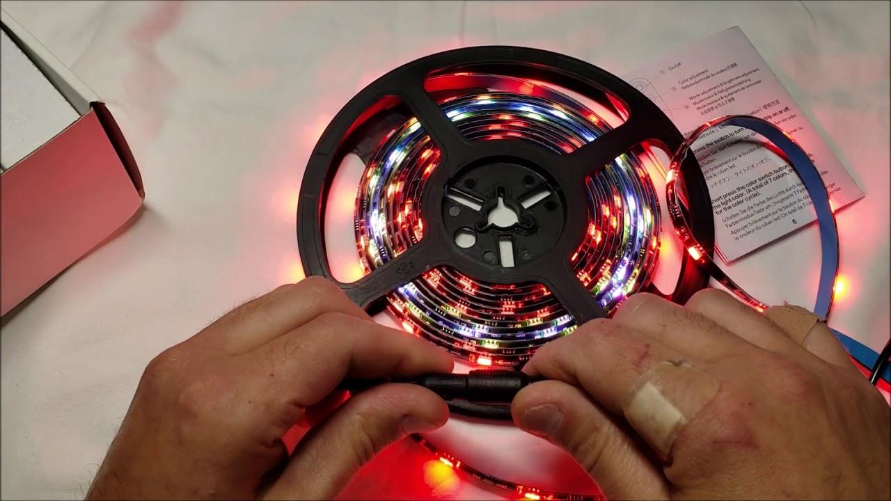 premium selection 9dbf0 62805 MINGER DreamColor LED Strip Lights Unboxing
