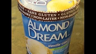 Almond Dream Vanilla Ice Cream: Product Review (gluten-free, Non-dairy, Vegan)