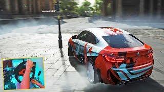 BMW X6 M na drift!  Forza Horizon 4