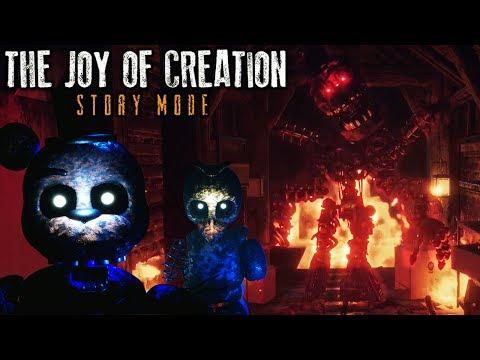I FINALLY BEAT IT!! | The Joy of Creation: Story Mode | ENDING