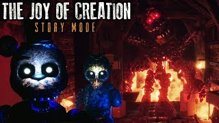 I FINALLY BEAT IT The Joy of Creation Story Mode ENDING