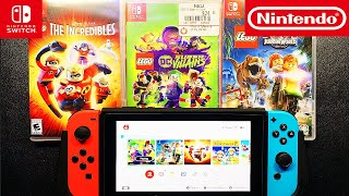 My TOP 3 LEGO Games   Nintendo Switch   What's Yours ?