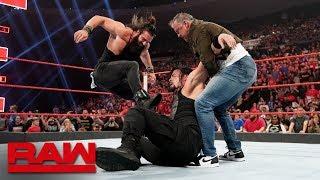 Shane McMahon and Elias interrupt Roman Reigns vs. Drew McIntyre: Raw, May 6, 2019