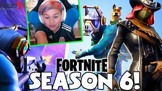FORTNITE SEASON 6 Battle Pass | Halloween Theme, DJ Yonder & More!