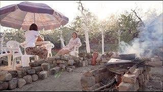 Плов узбекский на костре. Жесть! многодетная семья готовит плов на улице.