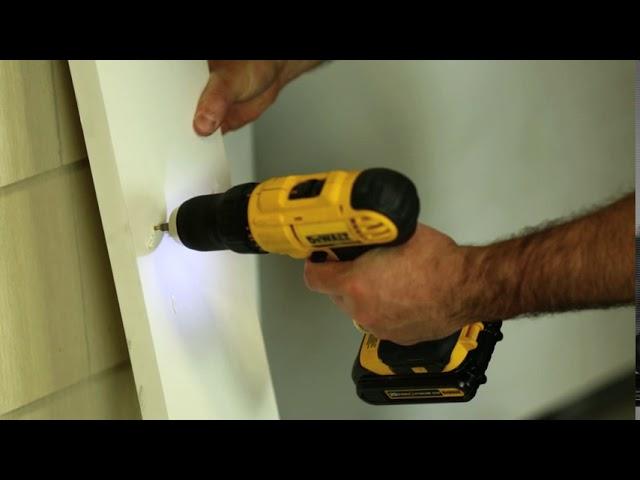 Installing EX-Cel PVC Trim (Unpainted)
