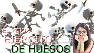 TENGO EL MEJOR EJERCITO DE HUESOS!!!! LA MEJORES JUGADAS QUE VERAS!  CLASH ROYALE!!! EKA GAMEPLAY