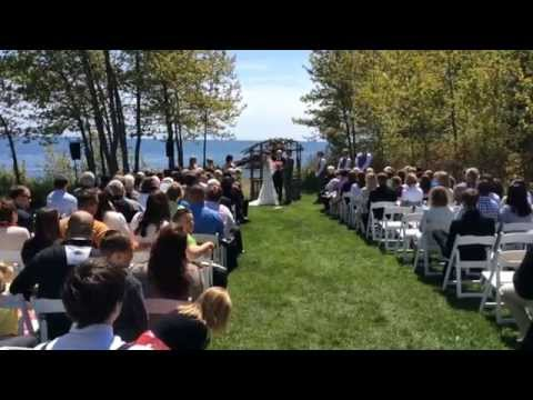 Ryan Browne Wedding Ceremony
