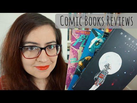 Comic Books Reviews – Bitch Planet, Saga, Descender