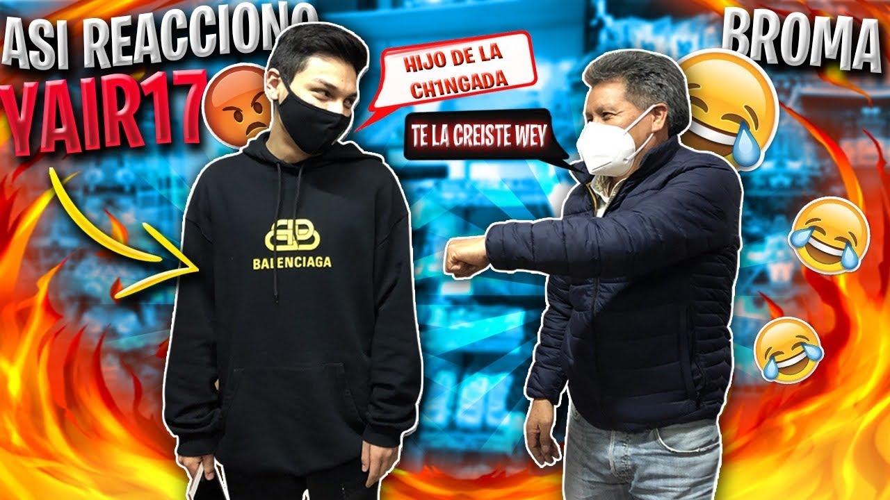 """BROMA A YAIR17 """"MAESTRO FALSO DE FREE FIRE"""" ASÍ REACCIONA"""