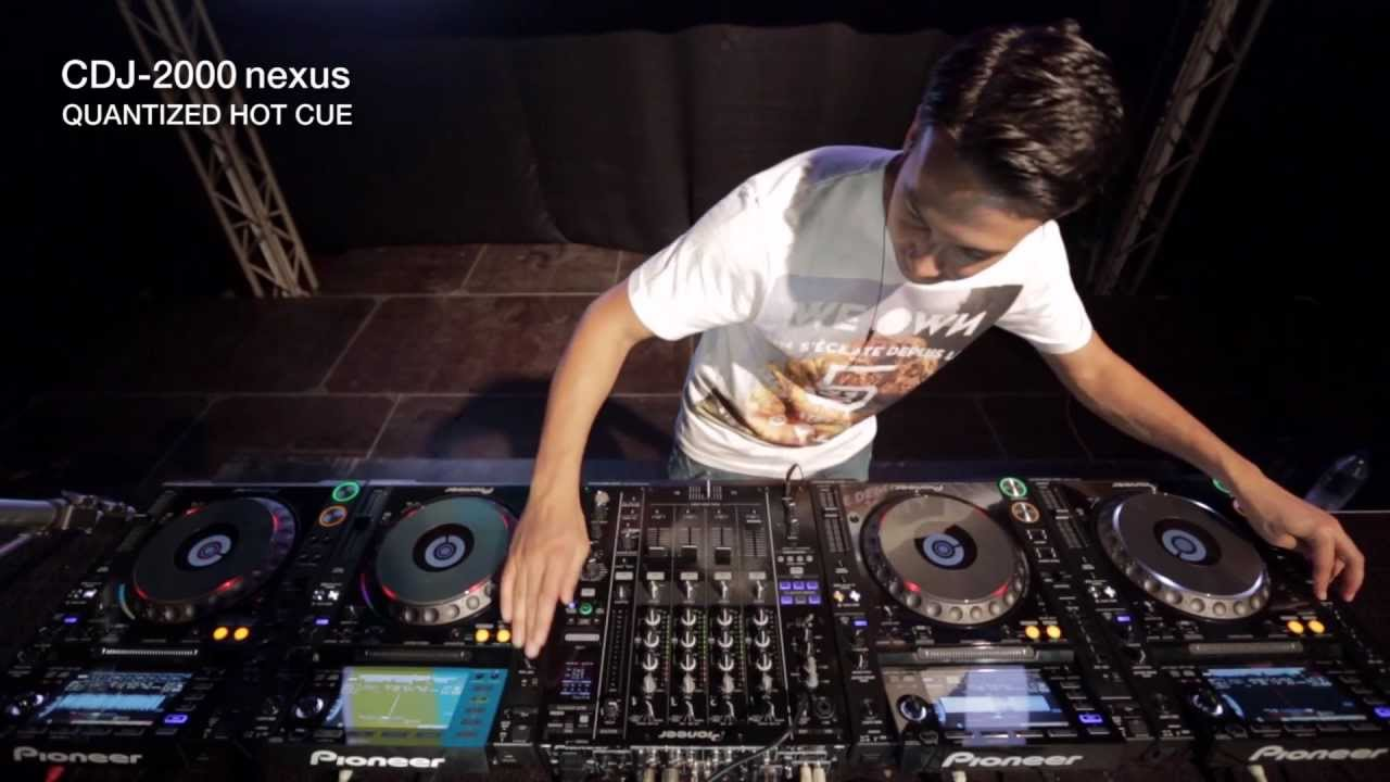 How To Get Out Of A Lease >> CDJ-2000nexus Laidback Luke Performance - YouTube
