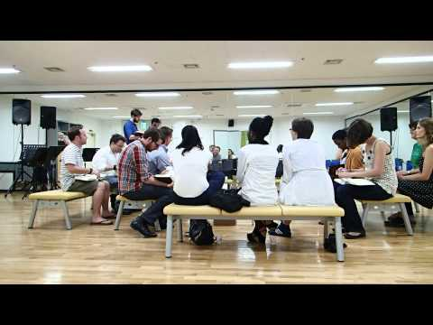 Learning Sacred Harp Singing in Busan