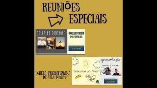 SABEDORIA PRA VIVER & JESUS NO CONTROLE - REPRISE 02/10/21