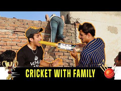 Haryanvi Cricket | Cricket With Family | Gagan Summy