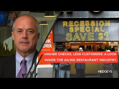 Higher Checks, Less Customers: A Look Inside the Ailing Restaurant Industry