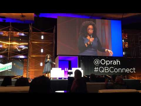 Oprah's keynote speech in San Jose at QuickBooks Connect 2015
