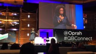 Oprah's keynote speech in San Jose at QuickBooks Connect 2015 thumbnail