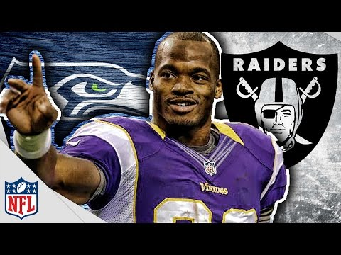 Adrian Peterson WANTS To Play For Raiders or Seahawks! Patriots Still Involved?