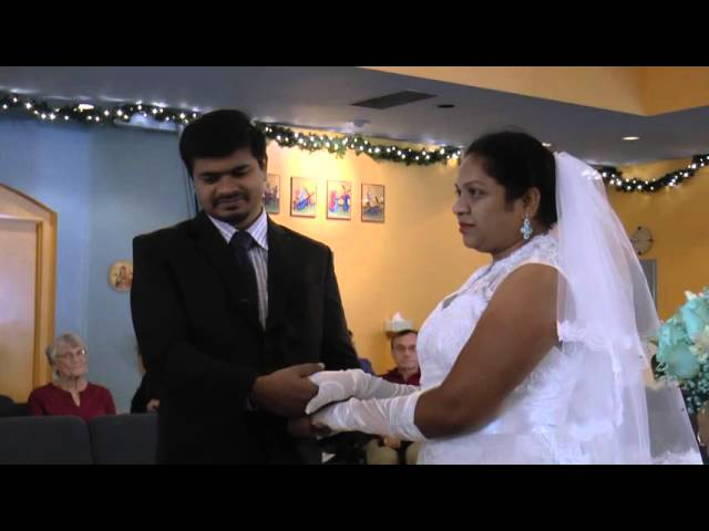 Fr. Chinnappa And Anitha Wedding.