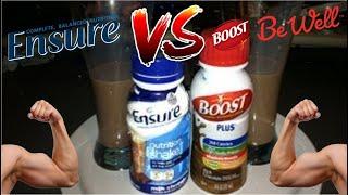 Ensure VS Boost Plus (Nutrition Shake) Review