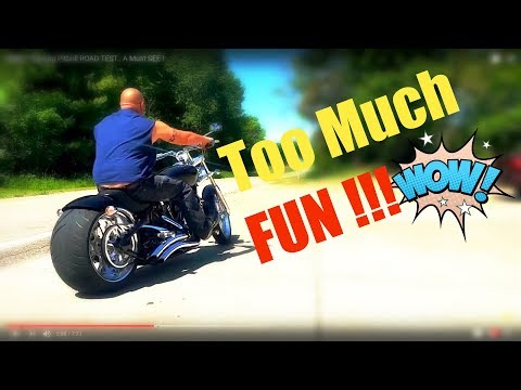 SWEET Big Dog Pitbull ROAD TEST.. A Must SEE & the Best Bike Tires on The Planet